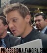 "Jeremy Renner signs autographs for fans outside of ""The Bourne Legacy"" red carpet premiere in New York on July 30, 2012."
